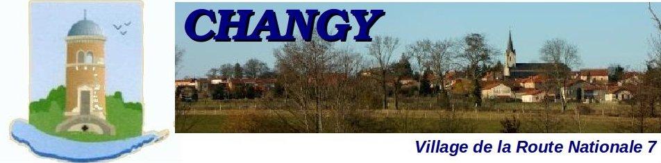 CHANGY  (Loire)