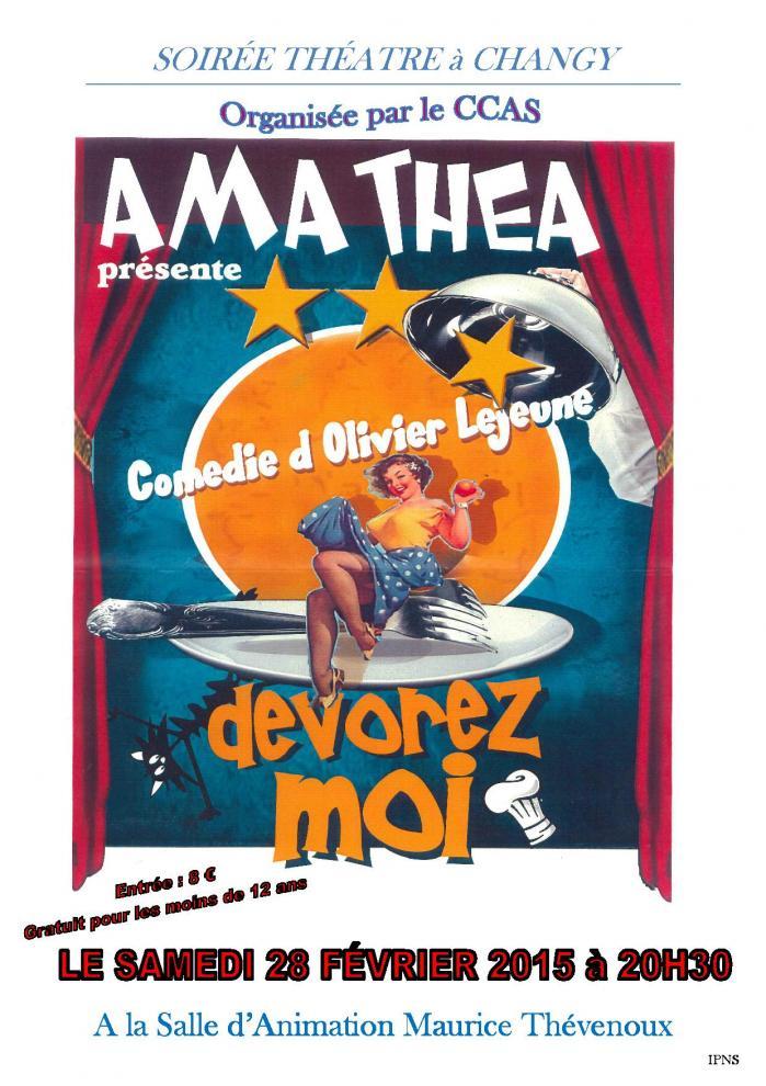 Affichette theatre ccas