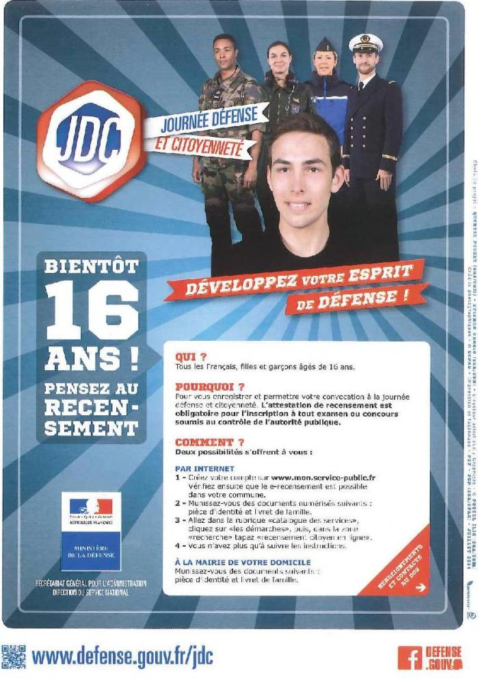 Flyer recensement octobre 2014